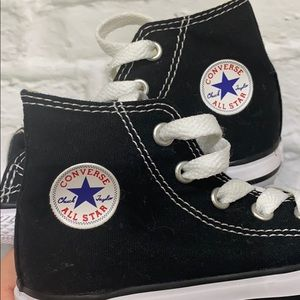 Converse Shoes - Brand New Converse Black High Top